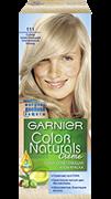 Гарньер Краска для волоc Колор Нэчралс сильно осветляющий 111  Платиновый блондин