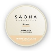 SAONA Паста для шугаринга WHITE CHOCOLATE 200/300г