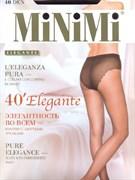 MiNiMi Колготки Elegante 40 (ажурн.трусики) NERO 2