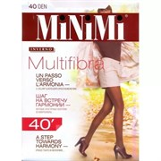 MiNiMi Колготки Multifibra 40 MOKA 3