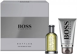 BOSS GREY men set (50edt+100 SH/G)