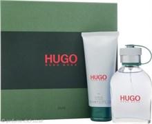 HUGO BOSS men set (75edt+100sh/gel)